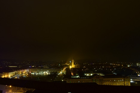 Der Blick über Potsdam vom Turm der St. Nikolai Kirche. Foto: A. Eger