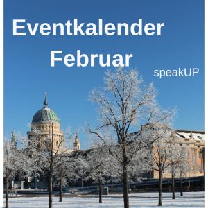 Online-Veranstaltungen im Februar findet ihr hier! (Grafik: Hannah Mück)
